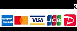 クレジットカードで支払いOK!