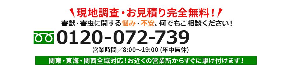 現地調査・お見積り完全無料!
